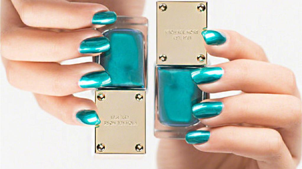 nagellack trends trendfarbe aqua im metallic look. Black Bedroom Furniture Sets. Home Design Ideas