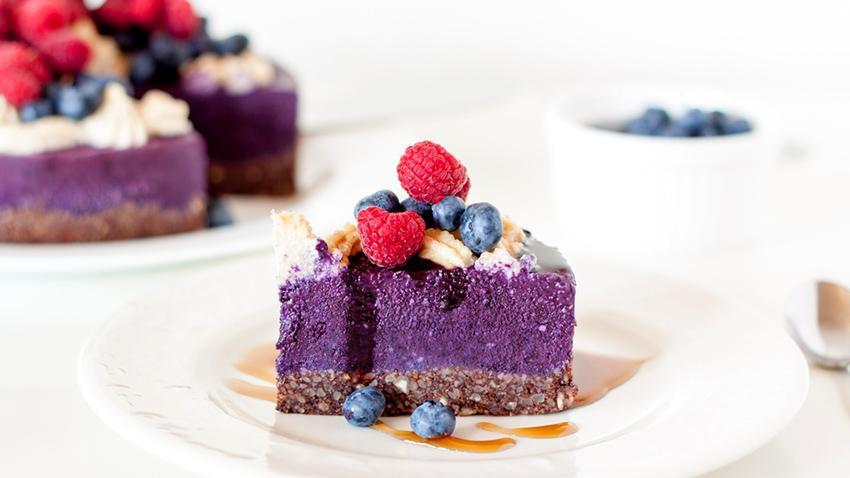 rezept easy blaubeer cheesecake ohne backen. Black Bedroom Furniture Sets. Home Design Ideas