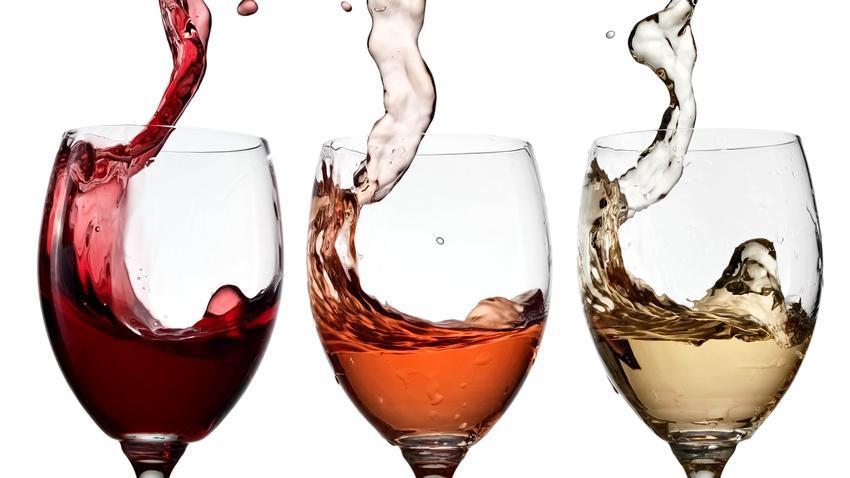 Kết quả hình ảnh cho rotwein weißwein rosewein