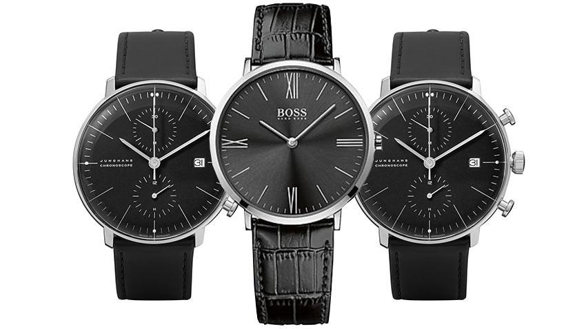 Uhren Trend All Black Die Besten Uhren Mit Schwarzem Lederband