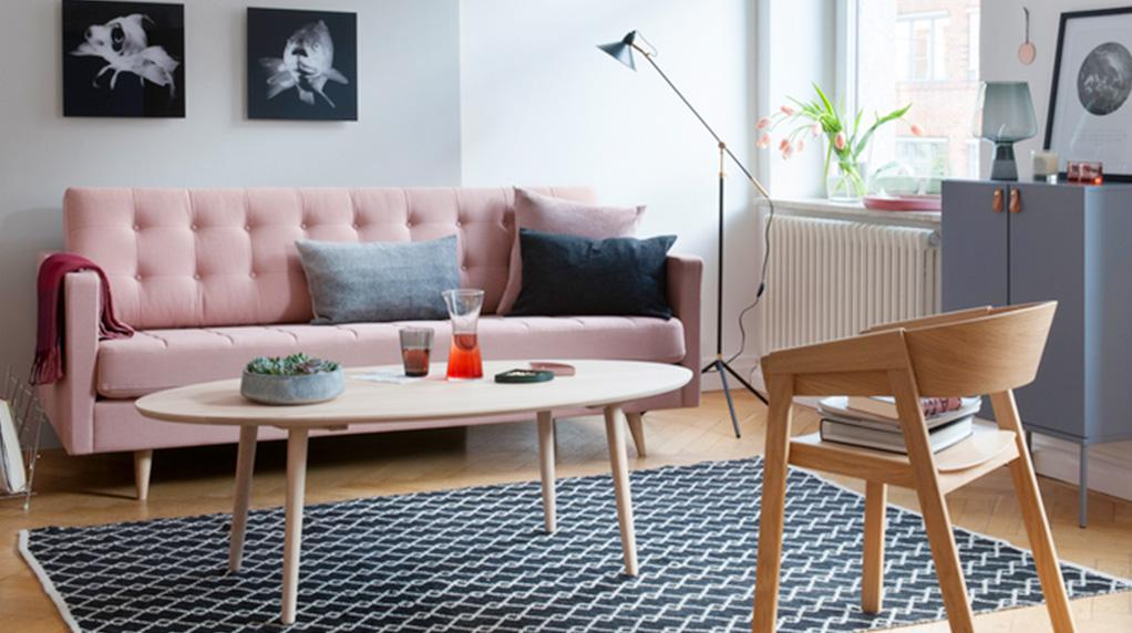 Wohnaccessoires U0026 Möbel In Den Trendfarben Rosa U0026 Kupfer